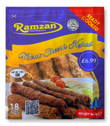 Halal Lamb Sheesh Kebab