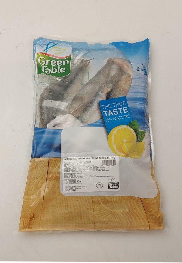 Green Table Sardine IQF WR 1 kg X 10 Pkts